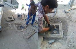 پروژه مرئی سازی حوضچه و مانور شیر آلات در شهر احمد آباد مستوفی