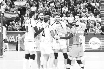 پیروزی متهورانه توسنهای تیز پای  والیبال ایران