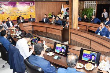 آغاز عملیات اجرایی و بهره برداری از ۴۰پروژه برق رسانی شهرستان اراک در هفته دولت