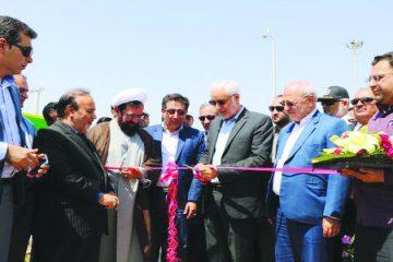 آیین بهرهبرداری از پروژههای عمرانی شهرداری شاهین شهر