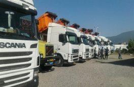 ۷۰ درصد مطالبات کامیونداران خراسانجنوبی عملیاتی شد/ توزیع ۲۰۰۰ حلقه لاستیک بین کامیونداران