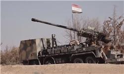 تسلط کامل ارتش سوریه بر ایستگاه (T2) در شرق استان حمص