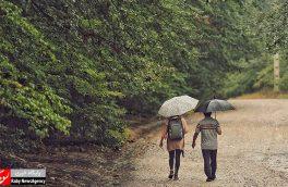 بارش باران تابستانی – گرگان