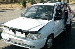 پنج مصدوم بر اثر تصادف در جاده چوپانان – انارک