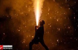 جشنواره آتش بازی در ژاپن