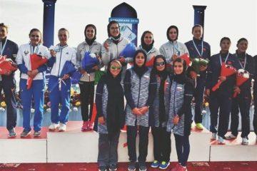 مسابقات آبهای آرام قهرمانی زیر ۲۳سال آسیا| ایران در پاراکانو قهرمان، زیر ۲۳ سال نایب قهرمان و جوانان سوم شد