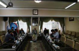 نشست مشترک نمایندگان کلیبر، هوراند، خداآفرین و ورزقان در مجلس با مدیرعامل آبفا آذربایجان شرقی