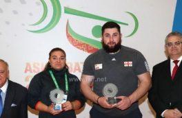 تالاخادزه و کاشیرینا بهترین وزنهبرداران مسابقات جهانی شدند