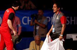 نوربخش: نتیجه مسابقات جهانی حاصل خوابیدن در باد قهرمانیهای کاذب بود