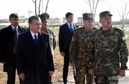 برگزاری بزرگترین مانور نظامی سراسری در ازبکستان