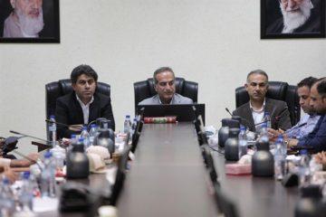 برگزاری نشست با شرکت های نمایندگی کشتیرانی در بندر بوشهر+ تصاویر