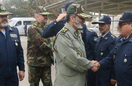 سرلشکر موسوی از پایگاه هوایی شهید حبیبی بازدید کرد