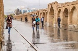 تداوم ناپایداریهای جوی در اصفهان+ جزئیات بارشهای روز گذشته
