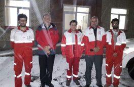 بازدید شبانه مدیرعامل هلال احمر آذربایجان شرقی از پایگاه های امداد جاده ای