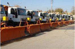 ۱۰۰ دستگاه ماشینآلات به ناوگان راهداری کشور اضافه شد