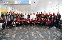 دومین تیم حاضر در جام ملتها وارد امارات شد