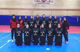 بانوان بسکتبالیست خمینی شهر همچنان صدرنشین لیگ دسته دوم کشور