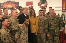 سفر غیرمنتظره ترامپ به عراق! +تصاویر