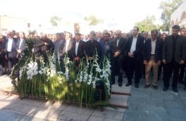 پیکر شاعر و نویسنده بوشهری به خاک سپرده شد