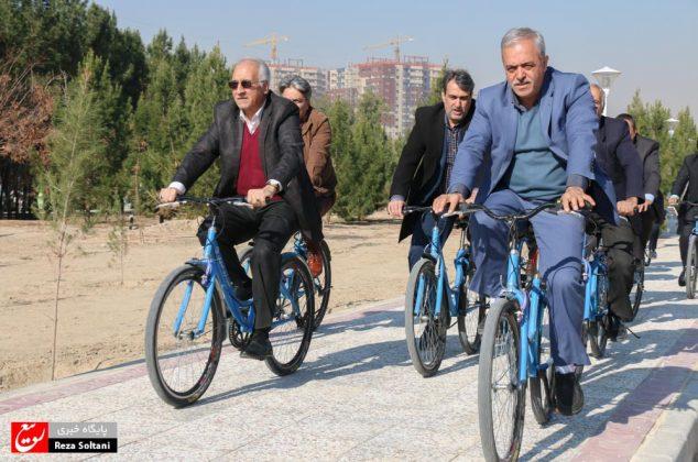 افتتاح پارک شهید کشوری در منطقه شش اصفهان