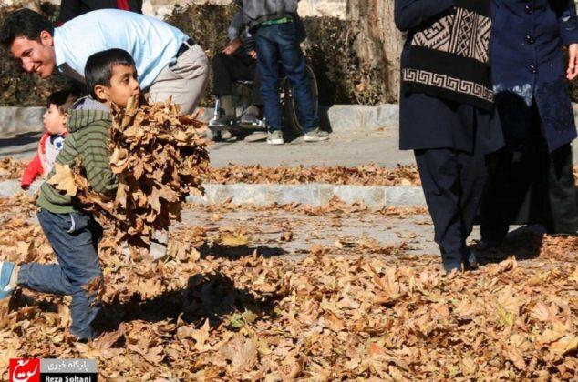 جشنواره برگ ها و رنگ ها در اصفهان