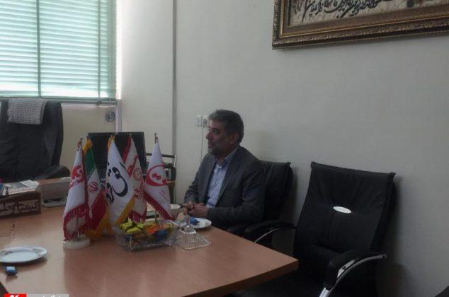 حضور آقای علی مرادی رییس بازاریابی بانک صادرات در روزنامه کیمیای وطن وپایگاه خبری ربیع
