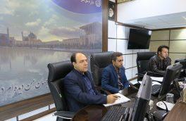 سومین جلسه کارگروه طوفان و بلایای طبیعی هواشناسی استان اصفهان