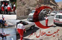 امدادرسانی به ۵۱ خوردوی در راه مانده از سوی هلال احمر اصفهان