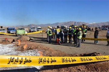 برگزاری مانور زلزله در شهرستان دلیجان و مقابله با بحران و حوادث مرتبط با گاز طبیعی
