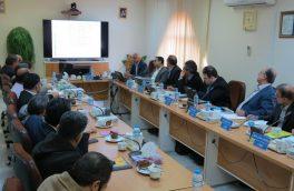 جلسه افتتاحیه ارزیابی دومین دوره جایزه سرآمدی و بهبود مستمر شرکت ملی گاز در شرکت گاز استان سمنان
