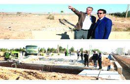 آغاز عملیات اجرایی آماده سازی کانال برای هدایت مسیر سیل در شمال غربی شاهین شهر