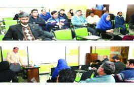 برگزاری کارگاه آموزشی مدیریت خاک در شهرداری شاهین شهر