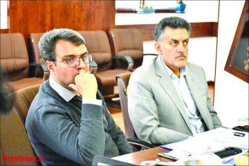 برگزاری جلسه مدیریت بحران در شهرداری نجف آباد