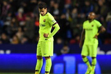 شکست بارسلونا در نبود مسی