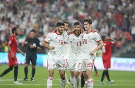 حریف ایران در یکهشتم نهایی جام ملتها کدام تیم است؟