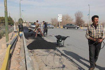 اصلاح هندسی پل روگذر اتوبان فلاورجان _گارماسه