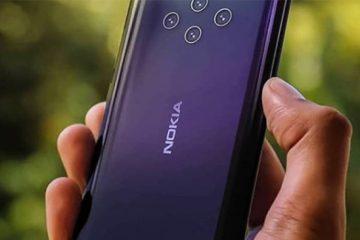 گوشی هوشمند نوکیا ۹ پیورویو با ۵ لنز دوربین به زودی رونمایی می شود