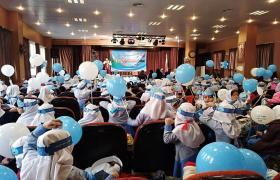 برگزاری جشنواره دانش آموزی نخستین واژه آب در آبفا منطقه ۲