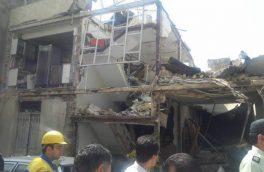 انفجار واحد مسکونی در کاشان ۲ مصدوم برجا گذاشت