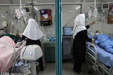 ۴۰ پرستار در چادگان مشغول به کار هستند