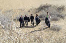 در روز هوای پاک، سیازگه و مرنجاب از زباله پاک میشوند
