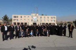 بازدید مربیان آموزش و پرورش ناحیه۵ از تصفیه خانه آب اصفهان