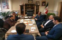 برگزاری جلسه هماهنگی مدیر آبفا منطقه ۵ با مدیر شهرداری منطقه ۸