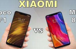 مقایسه گوشی های Mi 8 Pro و  Pocophone F1 : کدام مدل ارزش خرید دارد؟