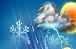 مردم قزوین از امشب منتظر بارش برف و کولاک باشند