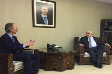 نماینده سازمان ملل در امور سوریه دیدار با المعلم را سازنده خواند