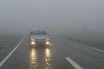 رانندگان از گردنه های برفی اصفهان با احتیاط عبور کنند
