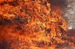 آتش زدن خانه یک زن به خاطر کینه قدیمی
