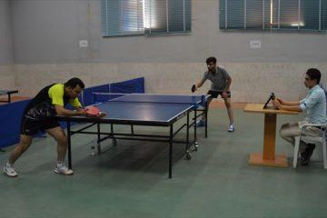 برگزاری مسابقات تنیس روی میز دانشجویان در خمینی شهر