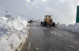 رهاسازی ۴۳ خودرو گرفتار در برف/پایان محدودیت تردد در محور اندیکا – شهرکرد